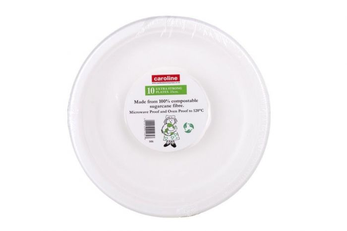 Castleview Extra Strong Plates Pack 10 9/23cm