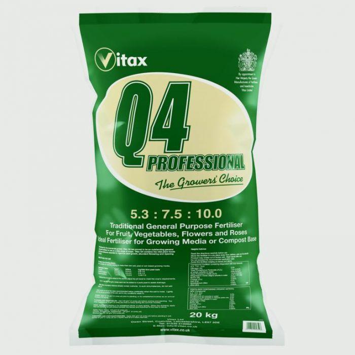 Vitax Q4 Traditional Formula 20kg