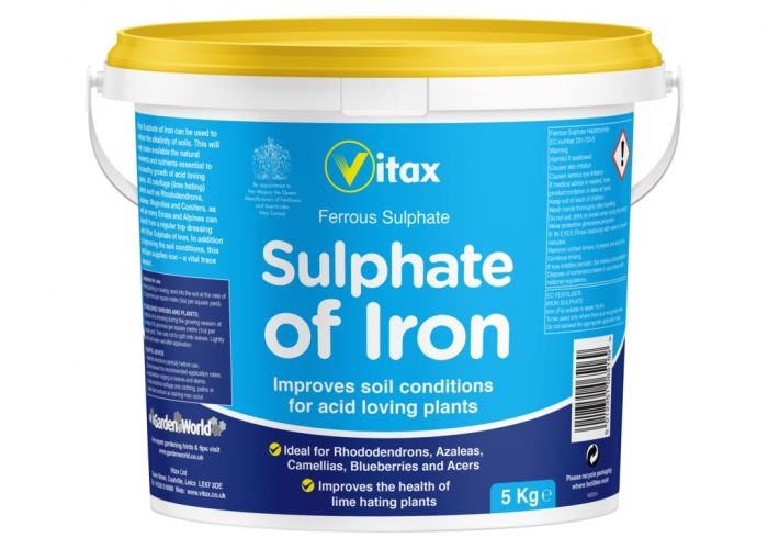 Vitax Sulphate Of Iron 5kg