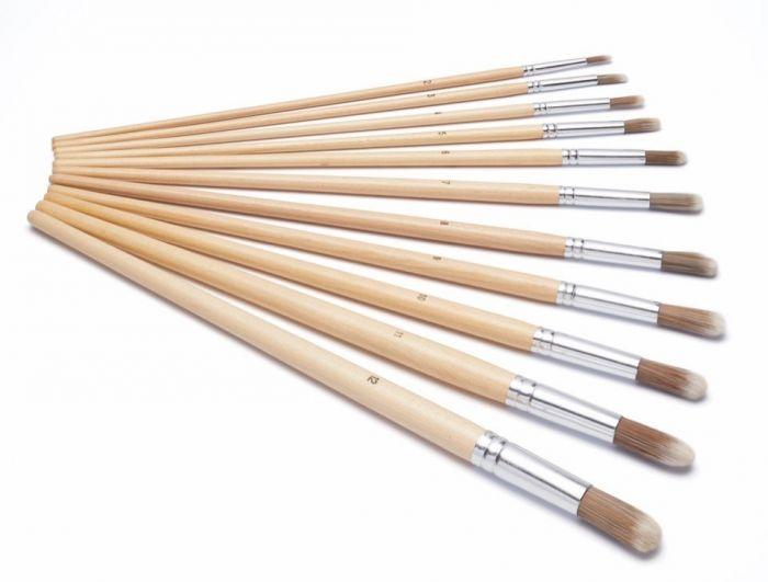 Harris Seriously Good Round Artist Paint Brush Pack 11