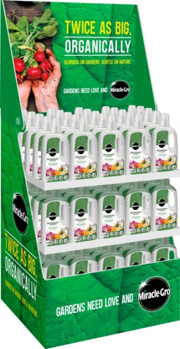 Miracle-Gro Performance Organics All Purpose Plant Feed Display Unit of 90