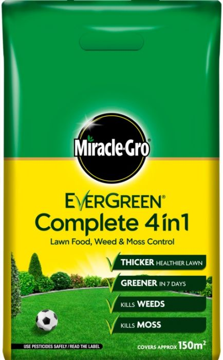 Miracle-Gro Evergreen Complete 150m2 Bag