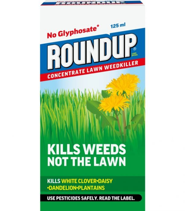 Roundup Lawn Optima Concentrate 125ml
