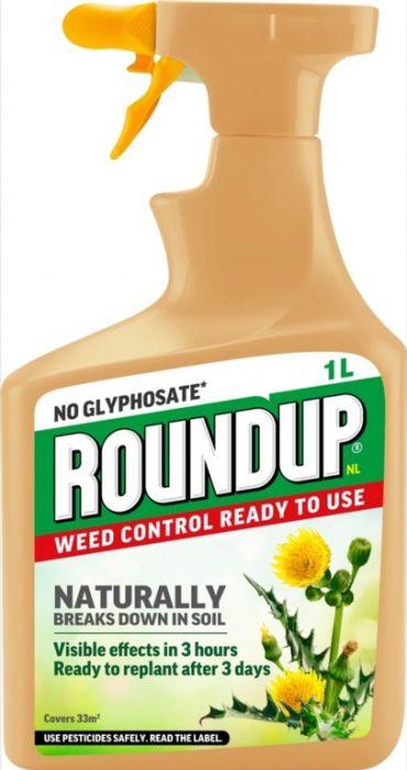 Roundup Natural Weed Control RTU 1L