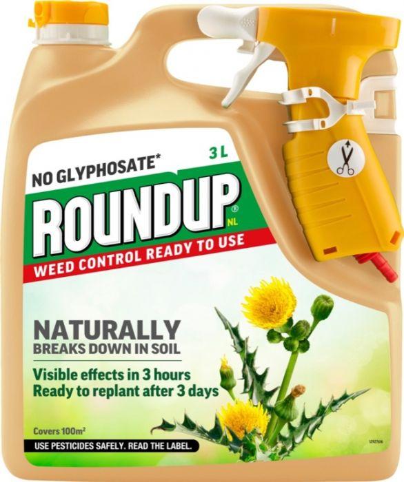Roundup Natural Weed Control RTU 3L