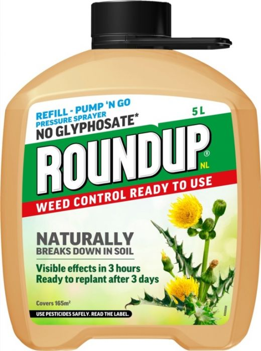 Roundup Natural Weed Control Refill 5L