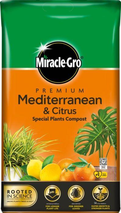 Miracle-Gro Mediterranean & Citrus Compost 6L