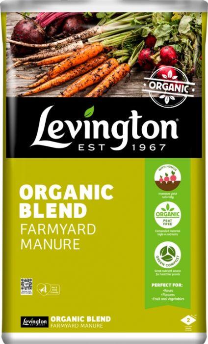 Levington Organic Blend Farm Manure 50L
