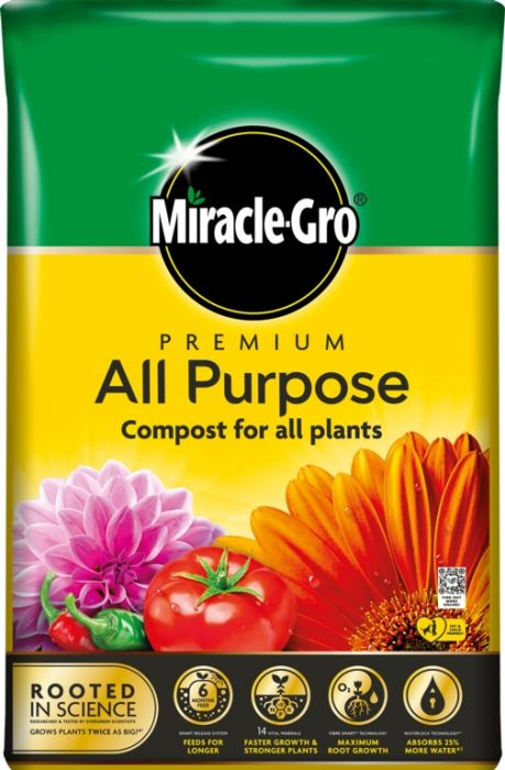 Miracle-Gro All Purpose Compost 50L