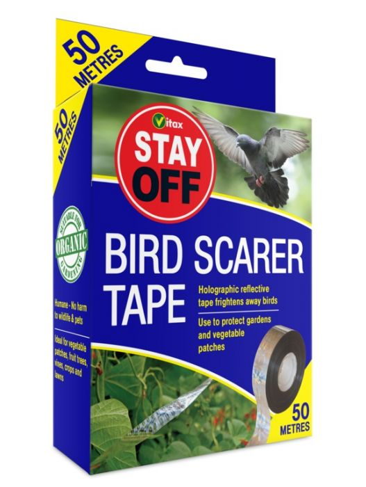 Vitax Stay Off Bird Scarer Tape 50m