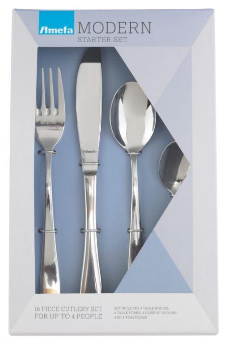 Amefa Modern Cutlery Box 16 Piece Sure