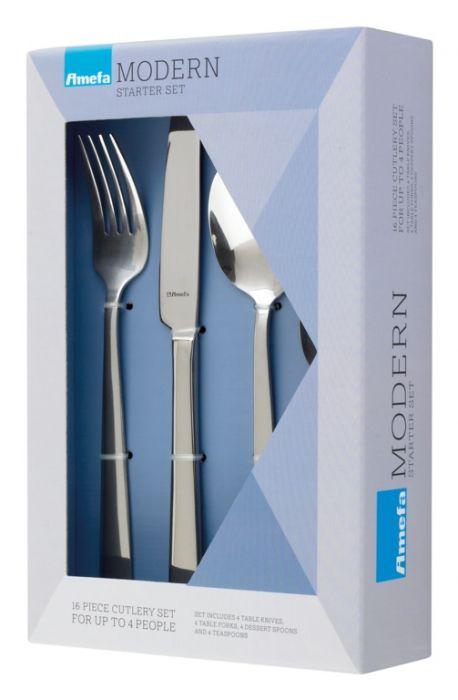 Amefa Modern Cutlery Set 16 Piece Bliss