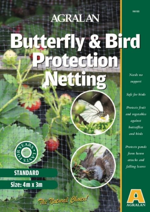 Agralan Butterfly & Bird Protection Netting 4 x 3m