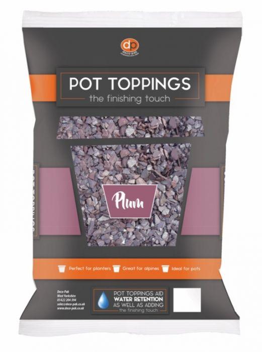 Deco-Pak Pot Toppings 20mm Plum