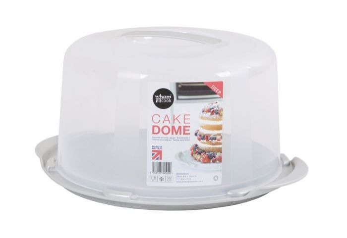 Wham Round Cake Storer Clear Lid 30x15