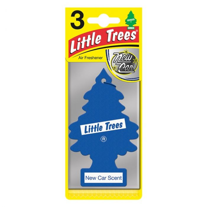Saxon Little Trees Triple Pack New Car Scent