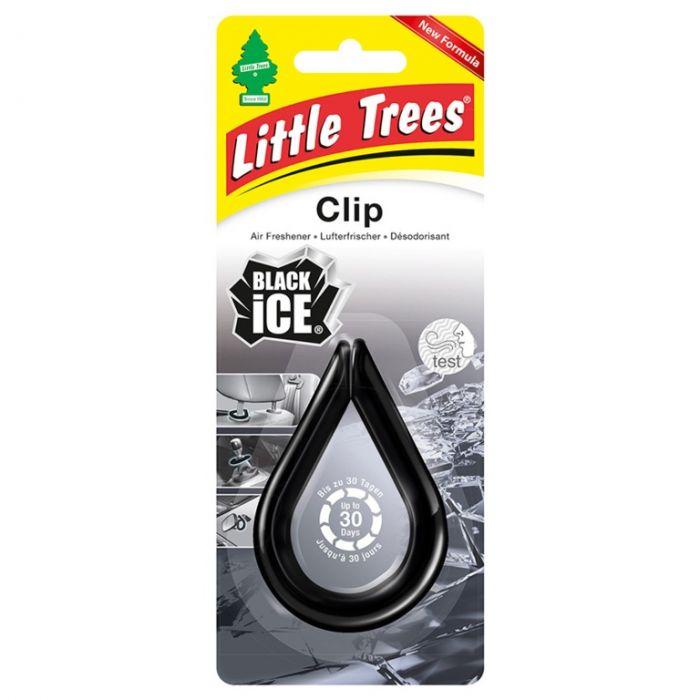 Saxon Little Trees Clip Black Ice