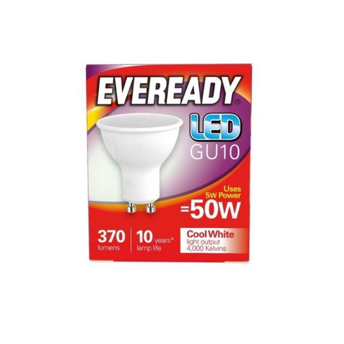 Eveready LED GU10 50W 370lm