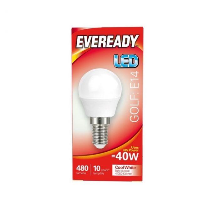 Eveready LED Golf 40W 480lm E14