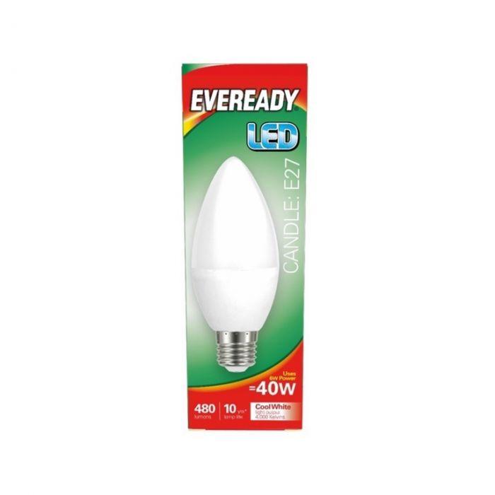 Eveready LED Candle 40W 480lm E27