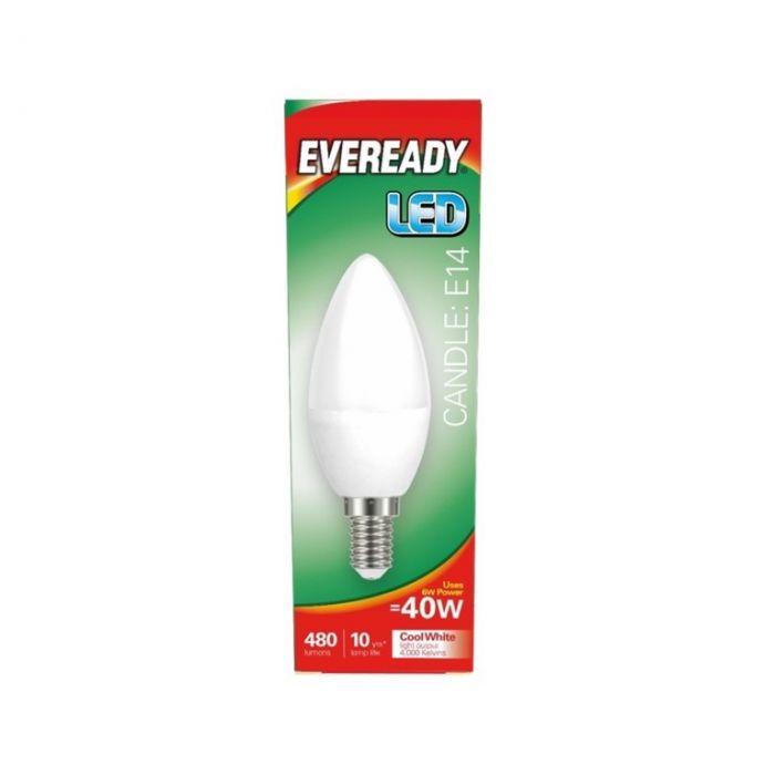 Eveready LED Candle 40W 480lm E14