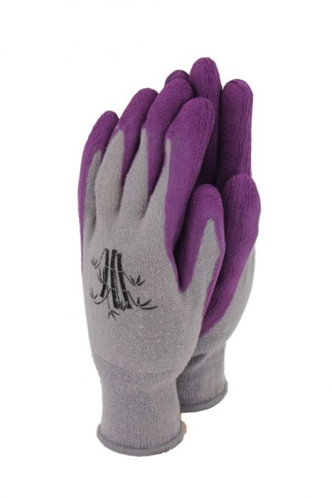 Town & Country Bamboo Gloves Grape Medium