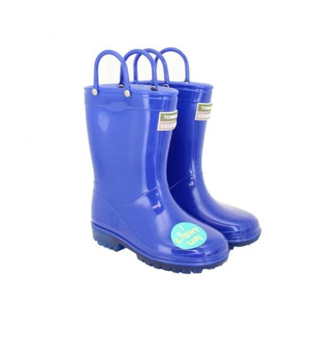 Town & Country Kids Light Up Wellies