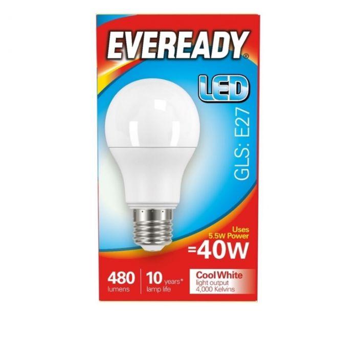Eveready LED GLS 40W 480lm E27