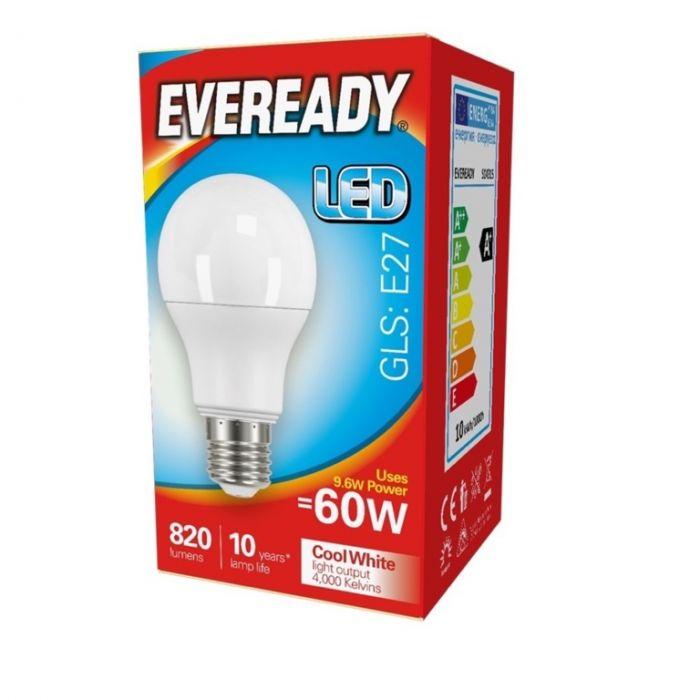 Eveready LED GLS 60W 820lm E27