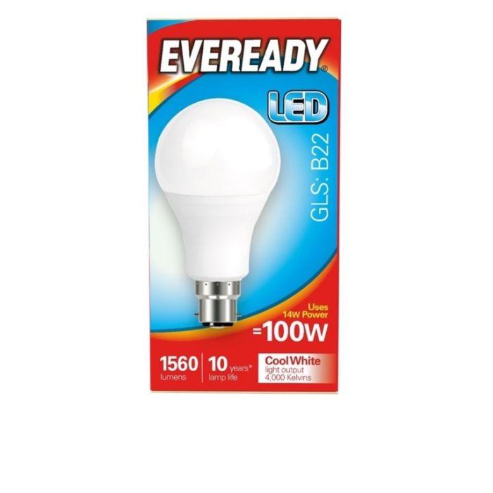 Eveready LED GLS 100W 1560lm B22