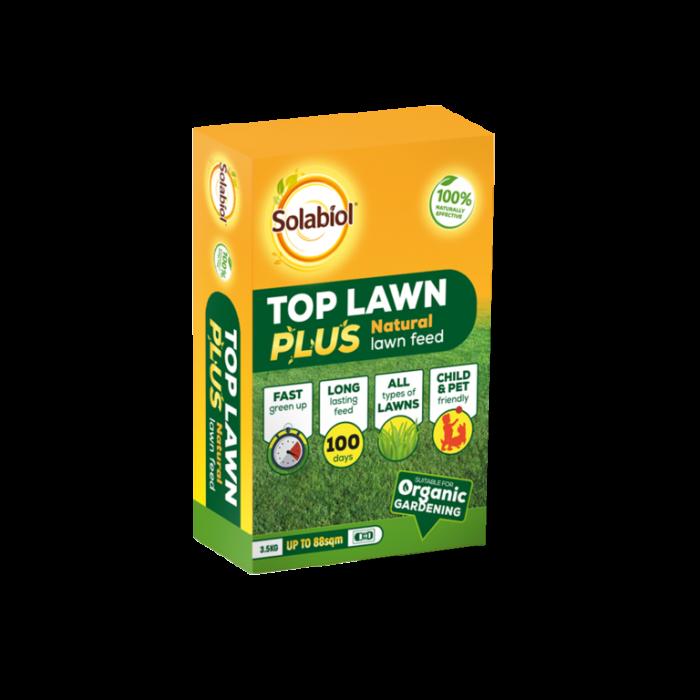 Solabiol Top Lawn Plus Natural Lawn Feed 3.5kg 88sqm