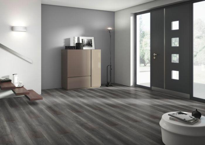 Classen Laminate Floor 1.996m2 Dark Grey Danville 8mm