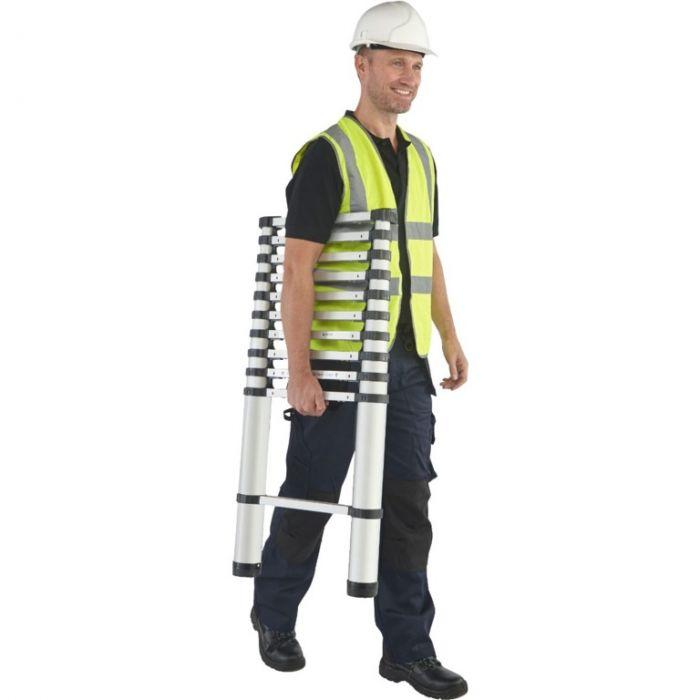 Youngman Aluminium Telescopic Ladder 3.2m