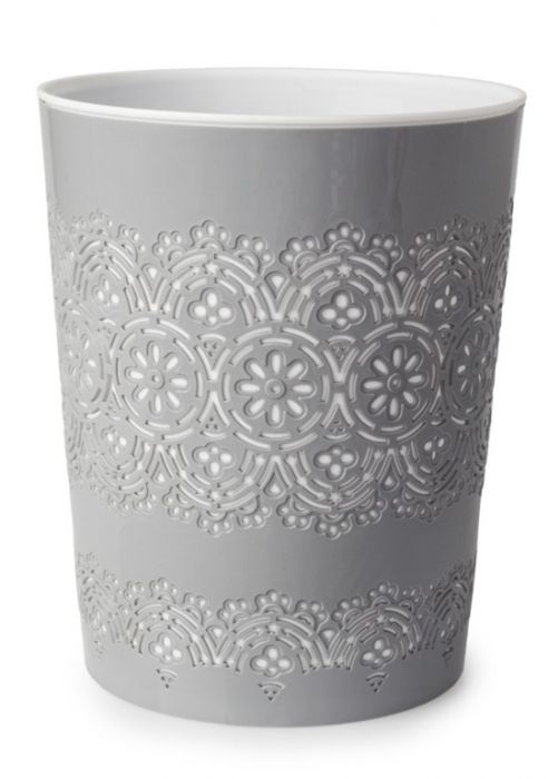 Bluecanyon Flora Waste Bin Grey