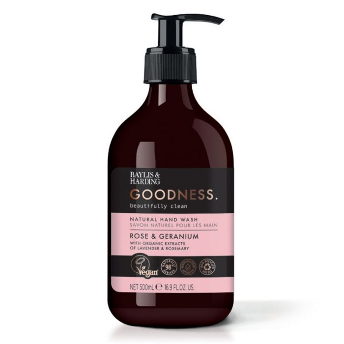 Baylis & Harding Hand Wash 500ml Rose & Geranium