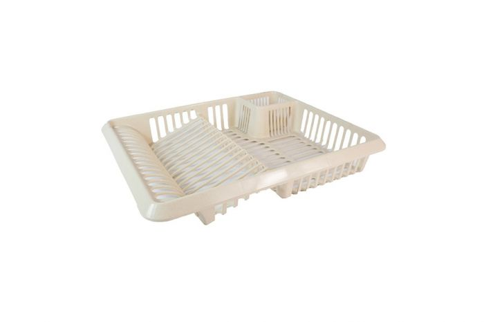 TML Cutlery Dish Drainer Large Taupe