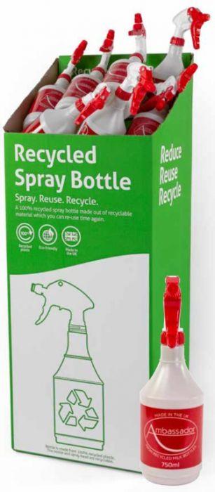 Ambassador Recycled Sprayer 750ml Display Unit of 50