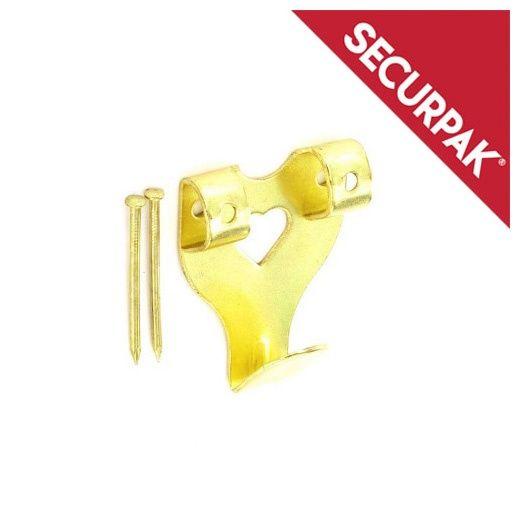 Securpak Double Picture Hooks & Pins BP Pack 8