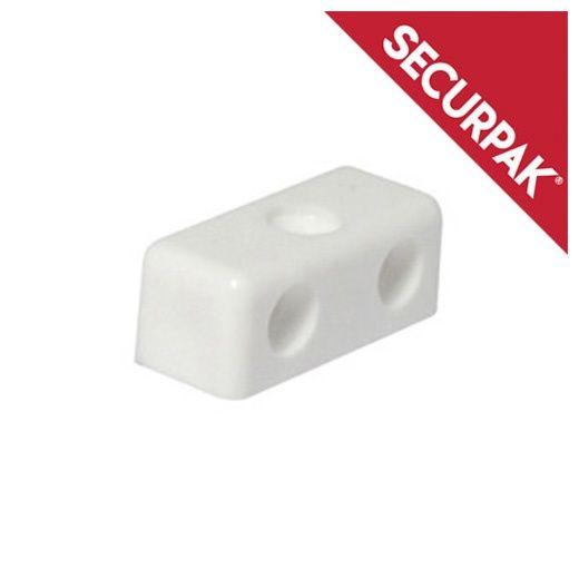 Securpak Modesty Block White Pack 12