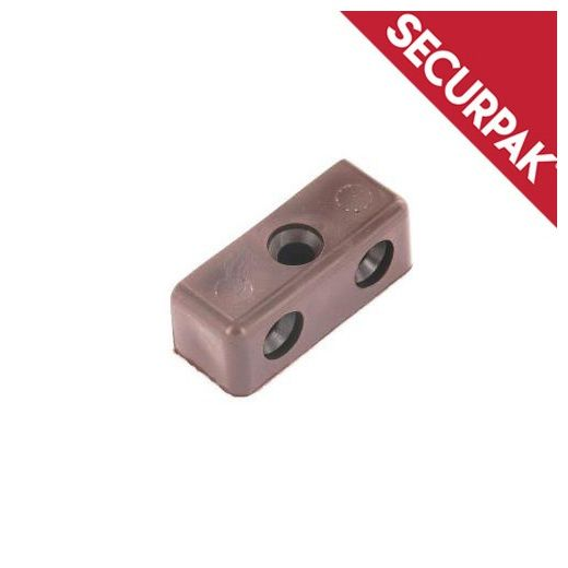 Securpak Modesty Block Brown Pack 12