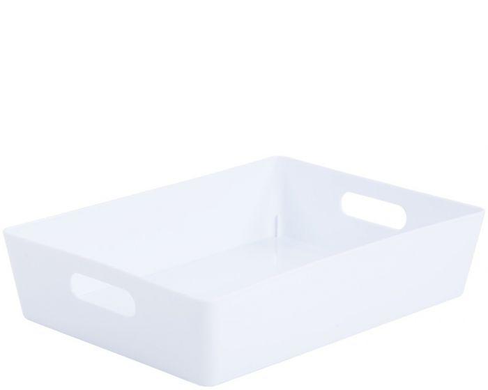 Whatmore Rectangular Studio Box 26 x 35 x 8cm Ice White