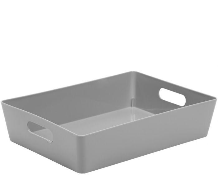 Whatmore Rectangular Studio Box 26 x 35 x 8cm Cool Grey