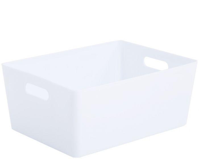 Whatmore Rectangular Studio Box 26 x 35 x 15cm Ice White