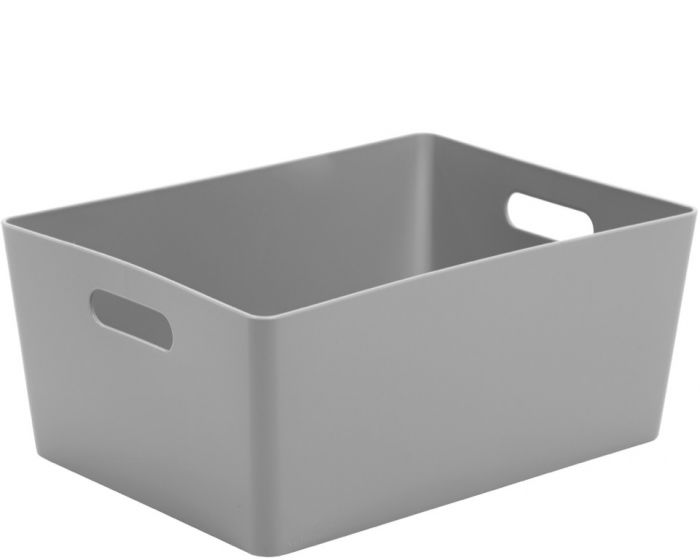 Whatmore Rectangular Studio Box 26 x 35 x 15cm Cool Grey