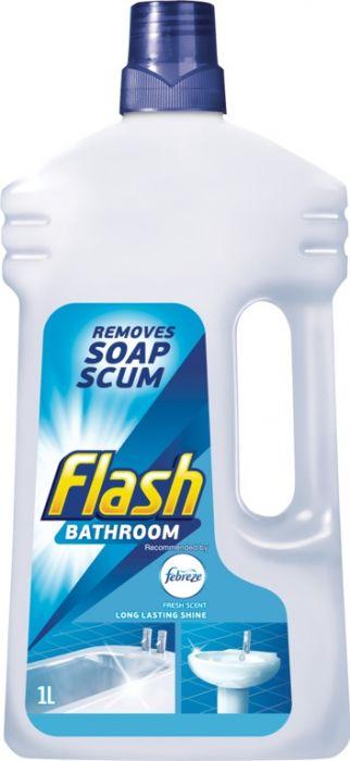 Flash Bathroom Cleaner 1L