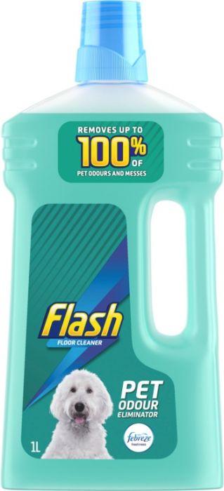 Flash Pet Odour Eliminator Floor Cleaner 1L