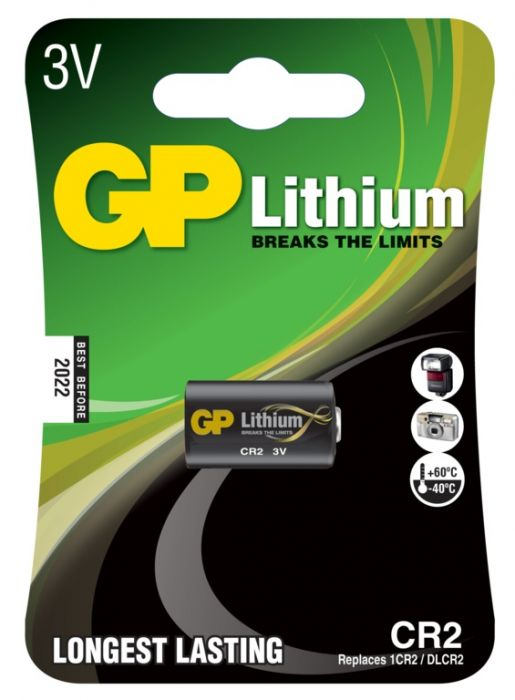 GP Lithium Battery CR2 Single
