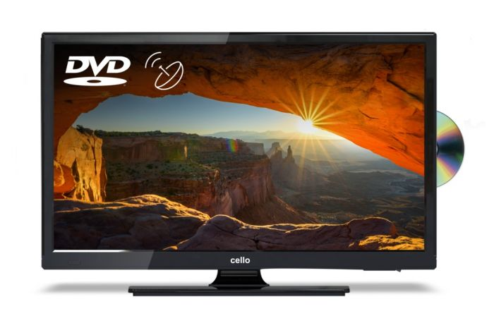 Cello TV DVD Combi With Satellite Tuner 22