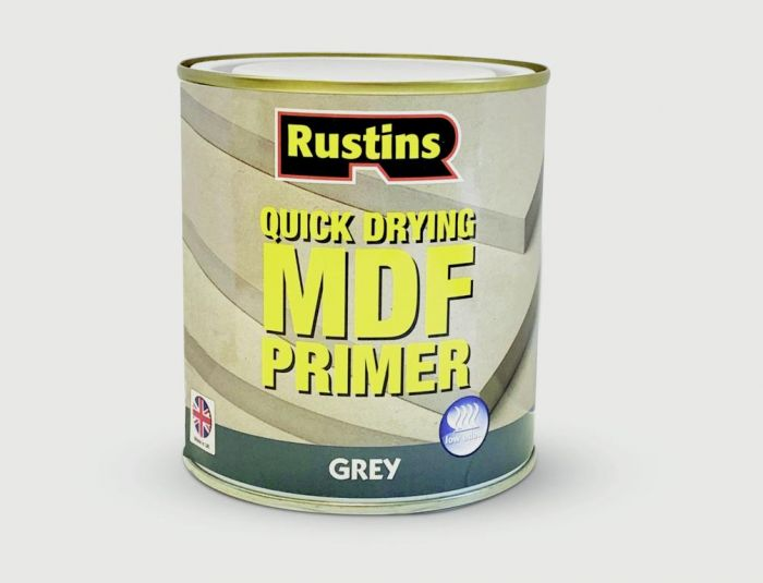 Rustins MDF Primer 250ml Grey