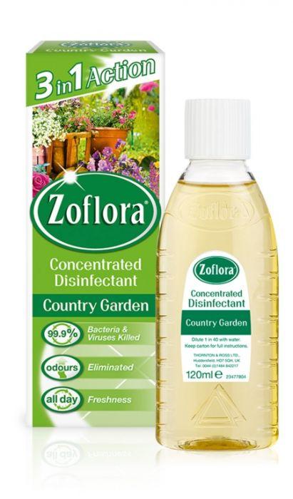 Zoflora Disinfectant 120ml Country Garden